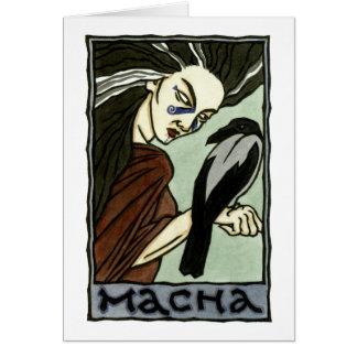 Macha Greeting Card