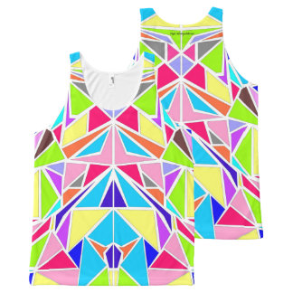 Machaon #1 All-Over-Print tank top