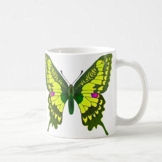 Machaon butterfly coffee mug