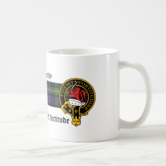 MacHardy Scottish Crest and Tartan mug