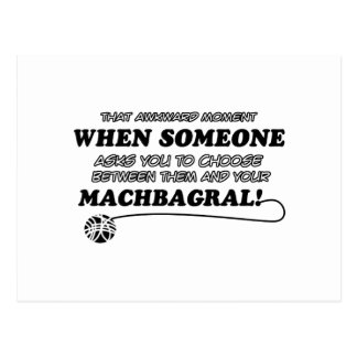 Machbagral cat designs postcard