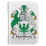 MacHenry Family Crest Kindle 3G Covers
