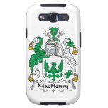 MacHenry Family Crest Samsung Galaxy SIII Cases