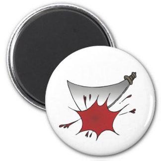 Machete Massacre 2 Inch Round Magnet