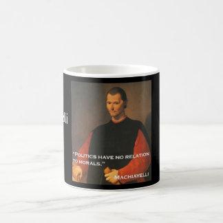 Machiavelli 2b classic white coffee mug