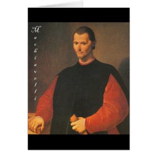Machiavelli 3 quarters with Blackadder Card