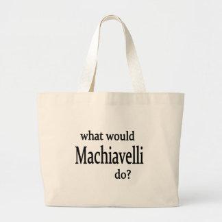 Machiavelli Large Tote Bag