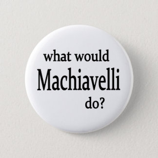 Machiavelli Pinback Button