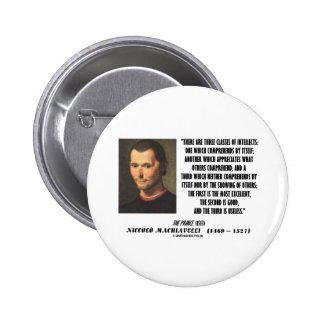 Machiavelli Three Classes Of Intellects Quote Button