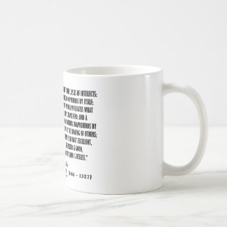 Machiavelli Three Classes Of Intellects Quote Coffee Mug