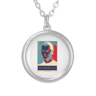 Machiavellian (Obama-style Poster) Custom Necklace