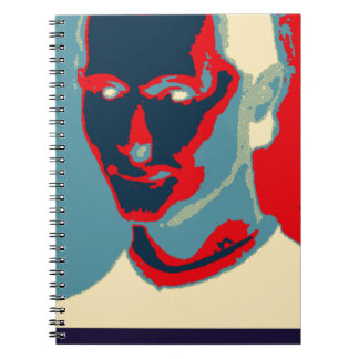 Machiavellian (Obama-style Poster) Notebook