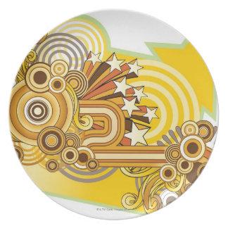 Machine Design Dinner Plate