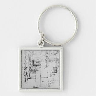 Machine designs, fol. 367r-b keychain