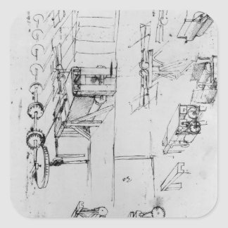 Machine designs, fol. 367r-b square sticker