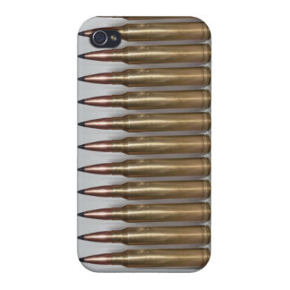 Machine Gun Bullets Cover For iPhone 4