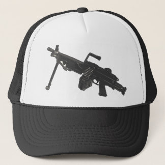 Machine Gun Fun Trucker Hat