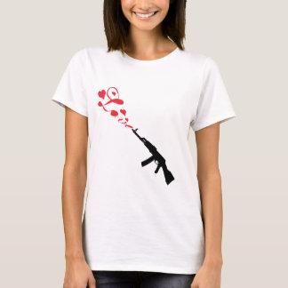 Machine Gun Love red T-Shirt