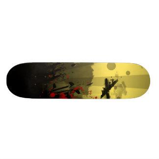 Machine Gun Man Skateboard Deck