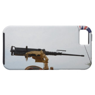 Machine Gun On Personnel Carrier iPhone 5 Cases