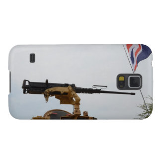 Machine Gun On Personnel Carrier Cases For Galaxy S5