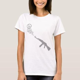 Machine Gun Peace grey T-Shirt