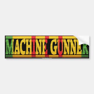 Machine Gunner Vietnam Service Ribbon Sticker