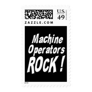 Machine Operators Rock ! Postage Stamp