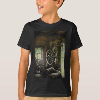Machine Shop - An old drill press T-Shirt