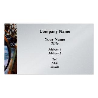 Machine Shop  - Platinum Finish Business Card