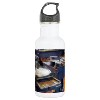 Machine Shop With Punch Press Water Bottle