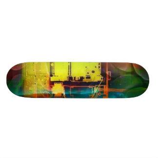 machine skate board