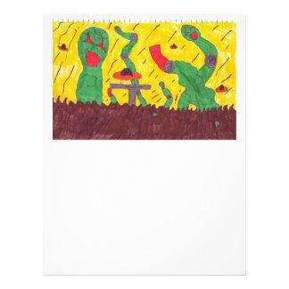 Machine worms letterhead