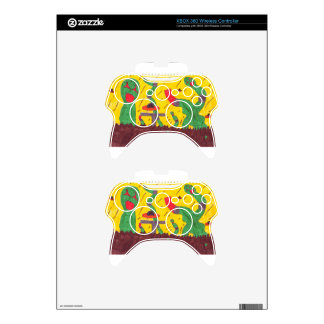 Machine worms xbox 360 controller decal