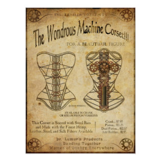 MachineCorset Print