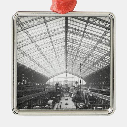 Machinery Hall, Universal Exhibition Metal Ornament