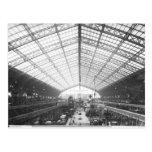Machinery Hall, Universal Exhibition Postcard