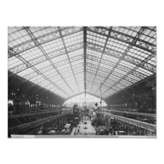 Machinery Hall, Universal Exhibition Poster