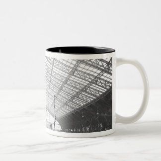 Machinery Hall, Universal Exhibition Two-Tone Coffee Mug