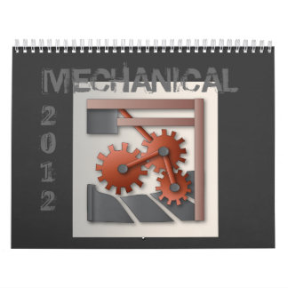 Machines Wall Calendar
