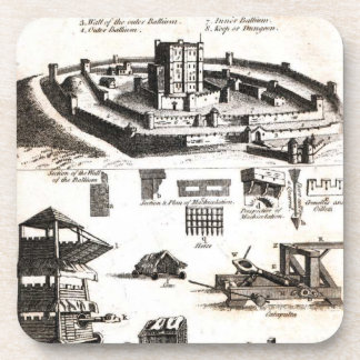 Machines of War and Castle Diagram Coaster