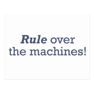 Machines / Rule Postcard