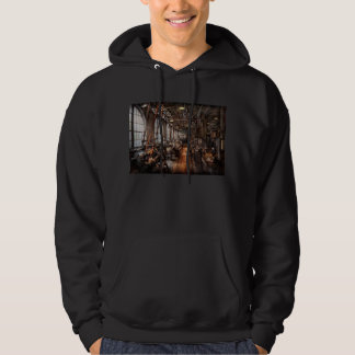 Machinist - A fully functioning machine shop Hoodie