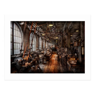 Machinist - A fully functioning machine shop Postcards