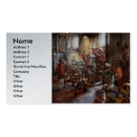 Machinist - A room full of memories Double-Sided Standard Business Cards (Pack Of 100)