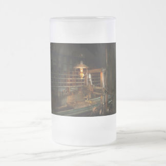 Machinist - At the millers Frosted Glass Beer Mug
