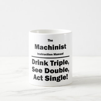 machinist coffee mug