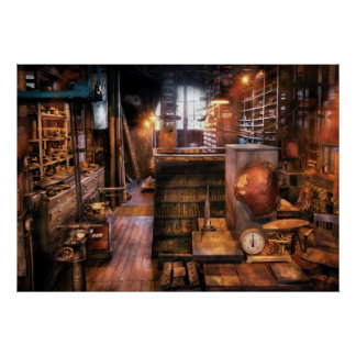 Machinist - Ed's Stock Room Poster