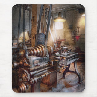 Machinist - Fire Department Lathe Mouse Pad