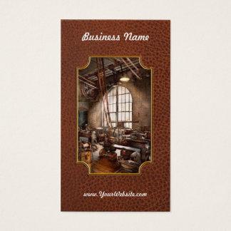 Machinist - I like big tools Business Card